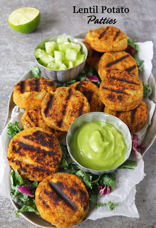 Easy Lentil and Potato Patties