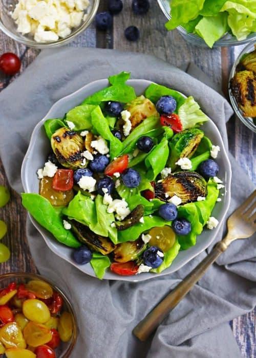 Easy Summer Berry Salad