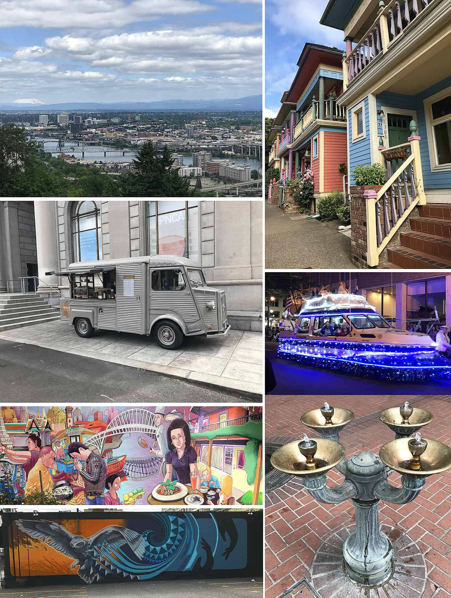 Around Portland & Aerial Tram Views