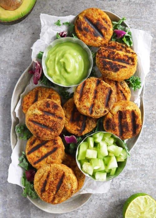 Easy Lentil Potato Fritters