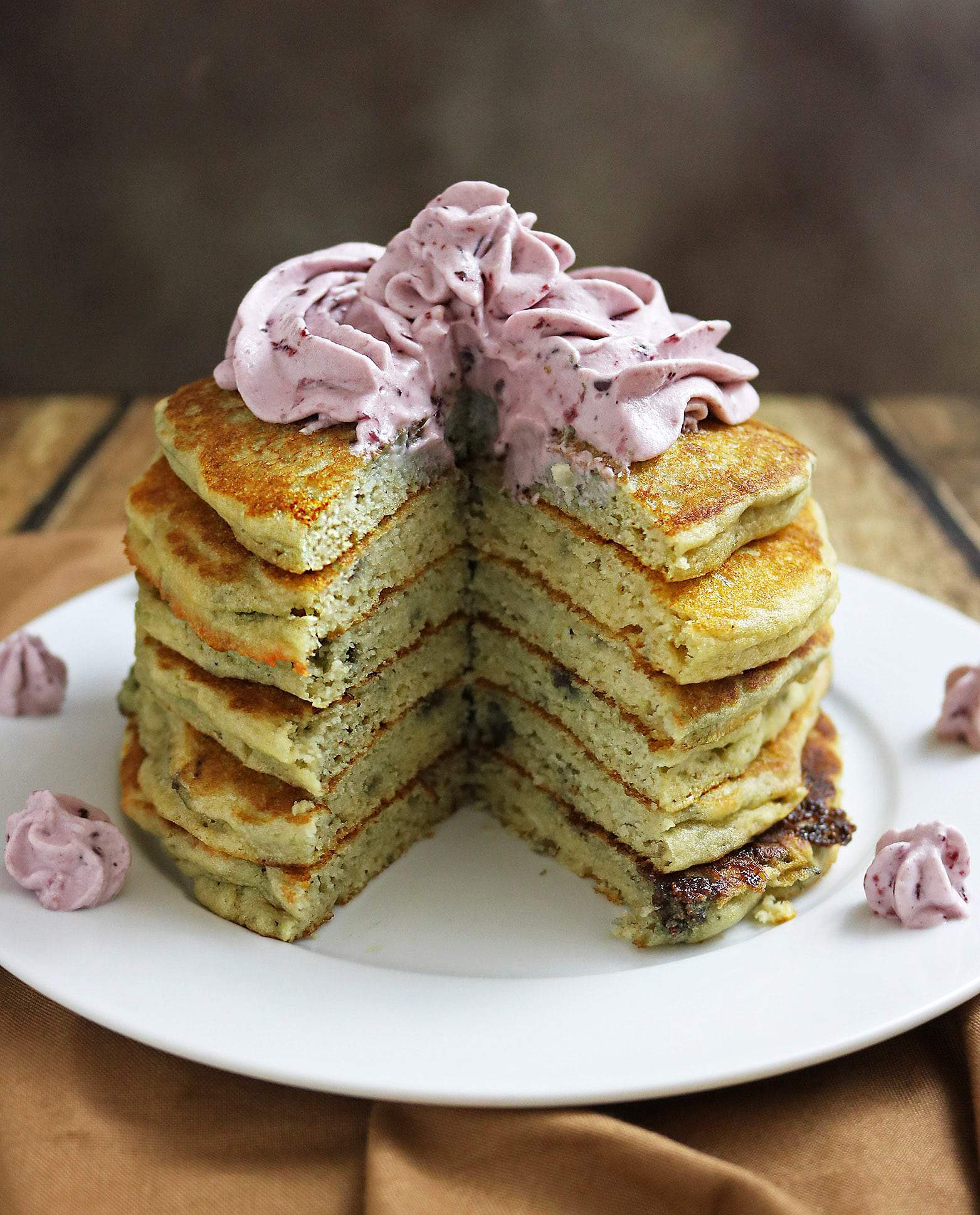 Easy Marionberry Protein Pancakes with Premier Protein