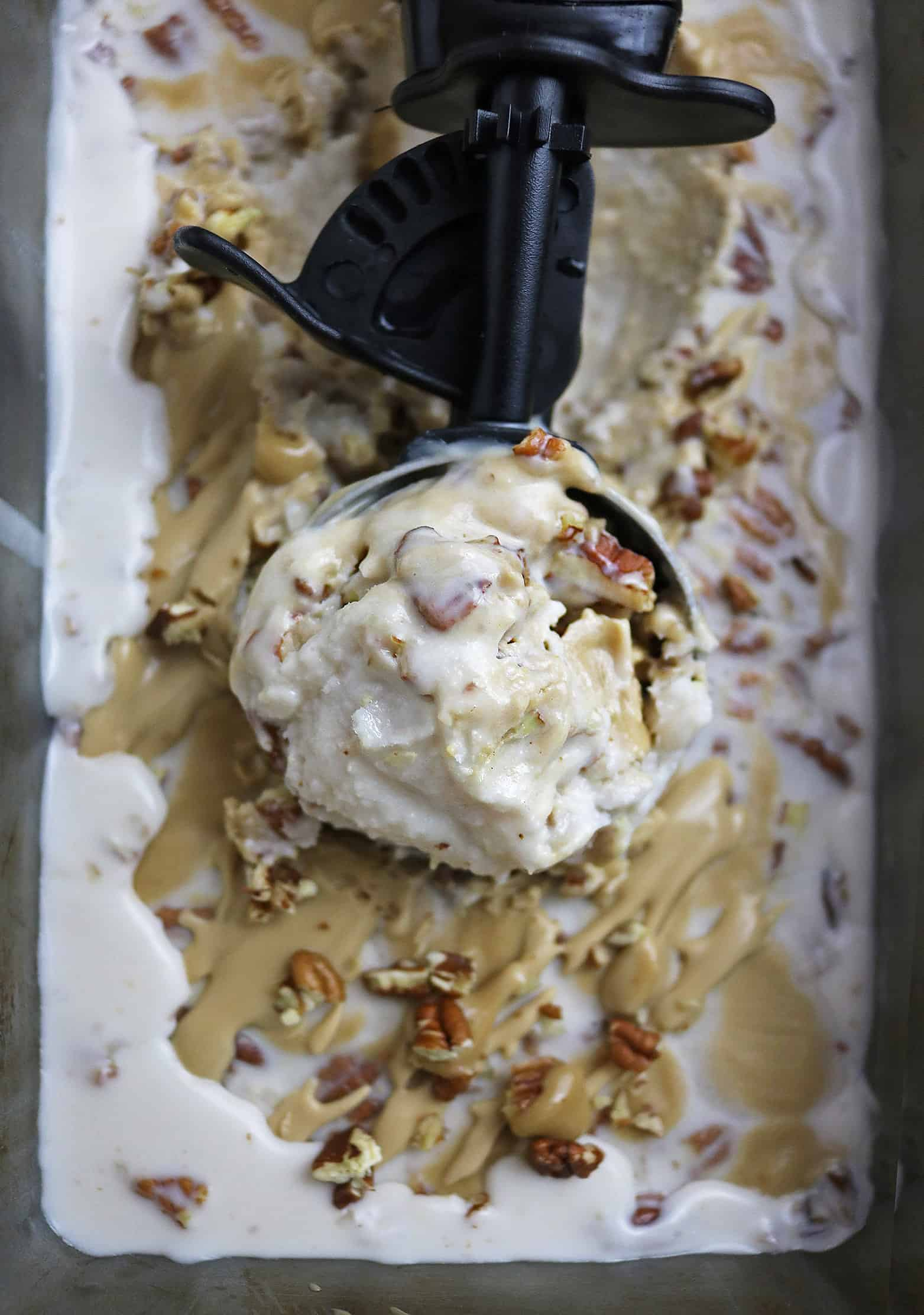 Caramel Brandy Ice Cream
