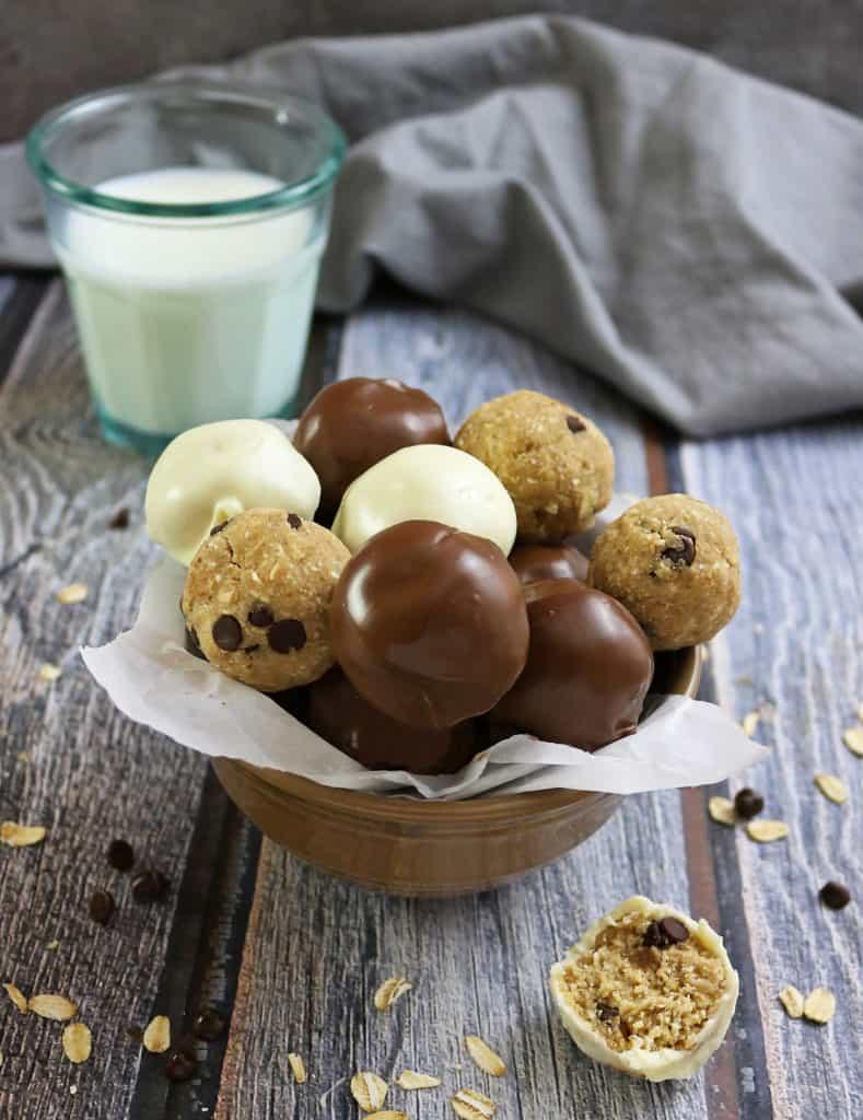 Gluten Free Caramel Chocolate Treats