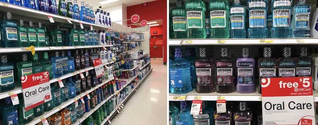 Listerine at Target