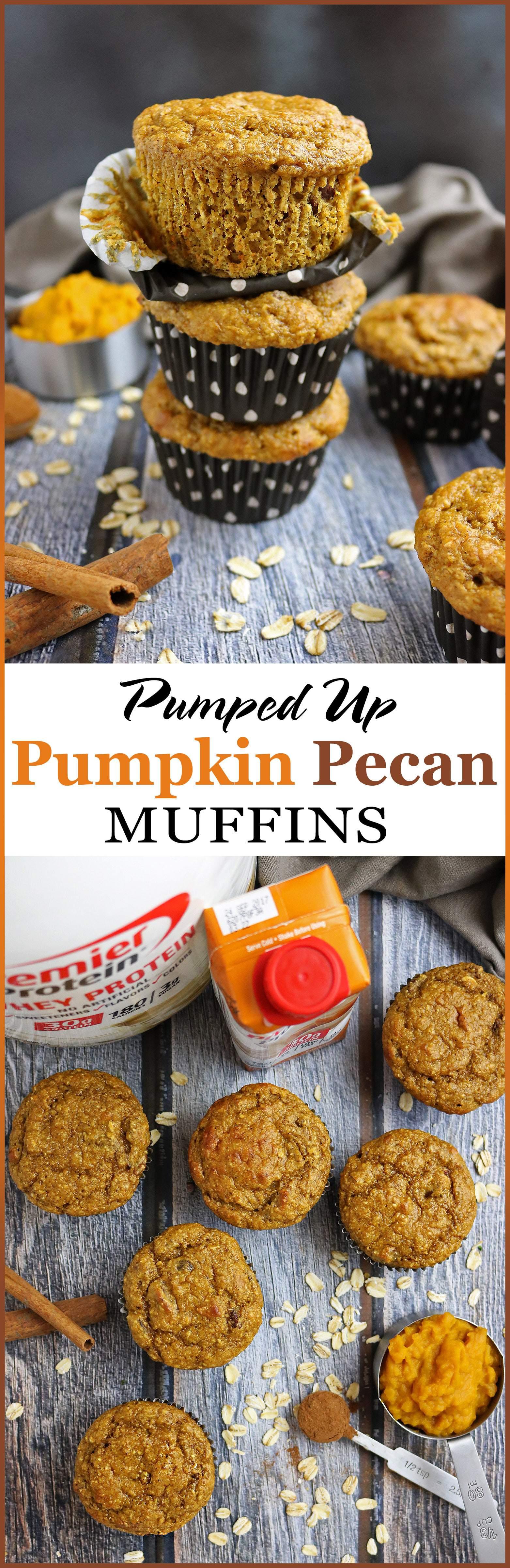 Pumpkin Pecan Muffins With Premier Protein