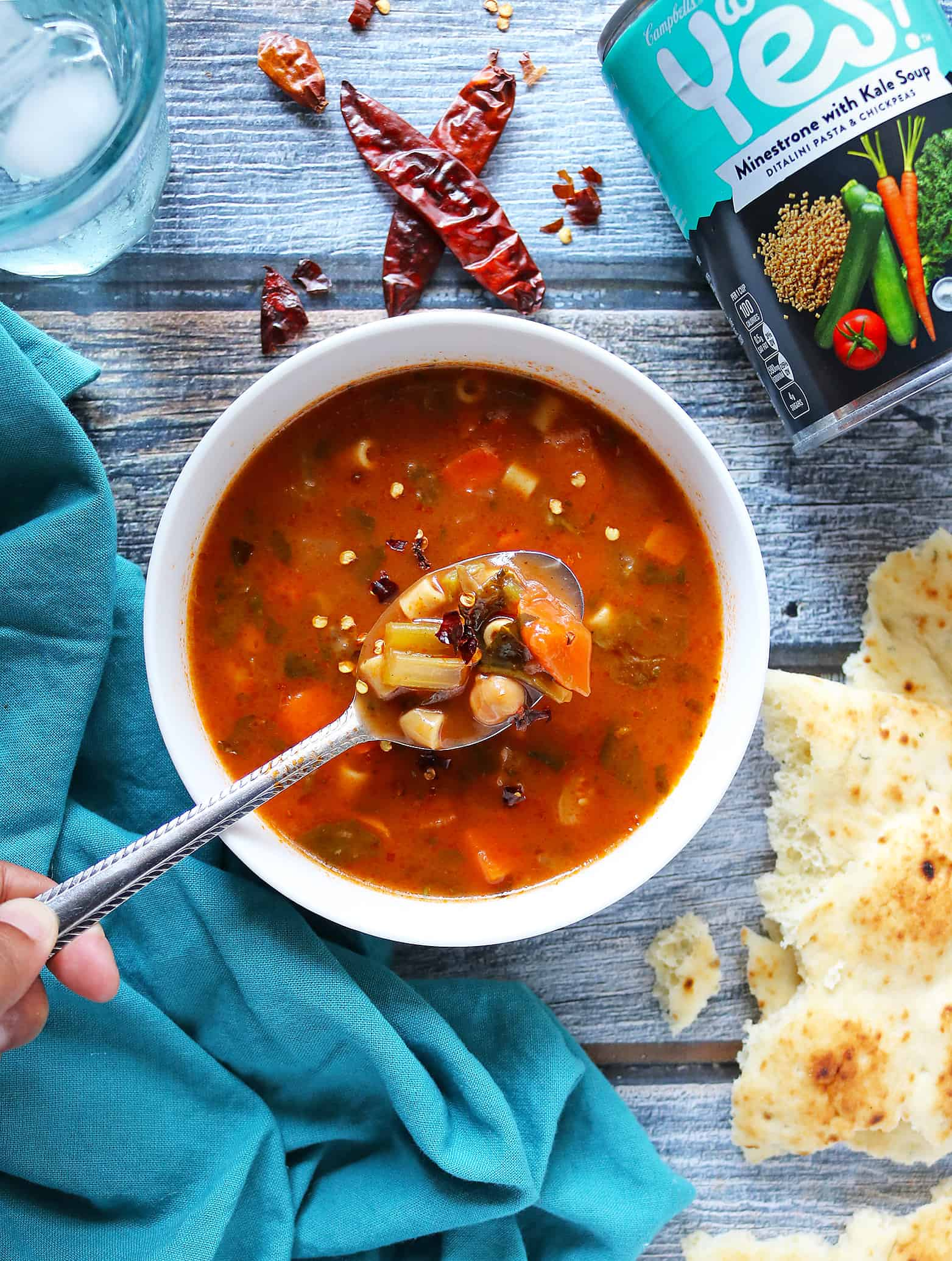 Well Yes!® Soup Minestrone with Kale