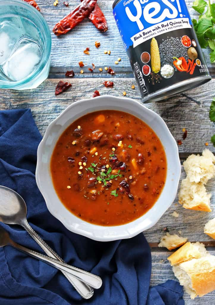 Well Yes!® Soup Black Bean with Red Quinoa