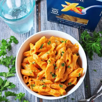 Creamy Butternut Squash Pasta #PastaPerfection