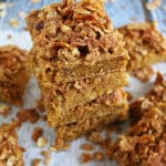 Easy Blender Made Nutty Sweet Potato Breakfast Bars