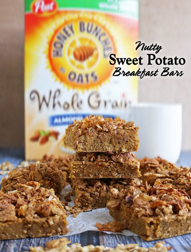 Nutty Sweet Potato Breakfast Bars