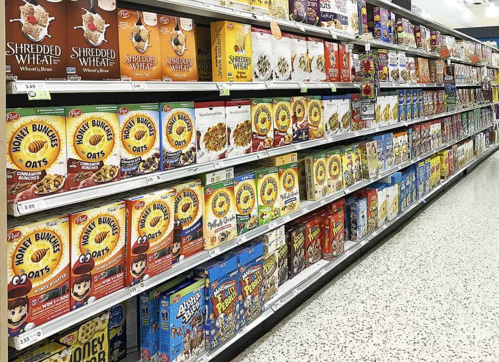 Post Cereal Publix