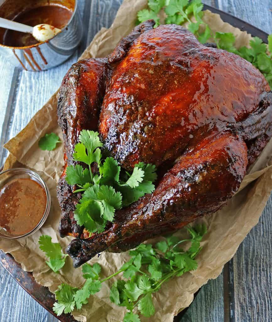 Easy Spicy Honey Glazed Turkey
