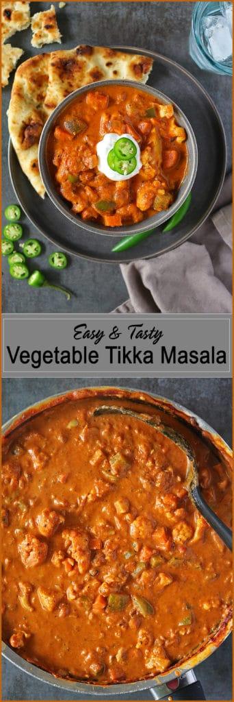 Easy Tasty Vegetable Tikka Masala