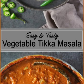 Easy Tasty Vegetable Tikka Masala
