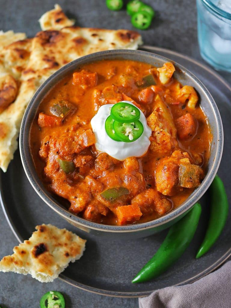 Easy Veggie Tikka Masala
