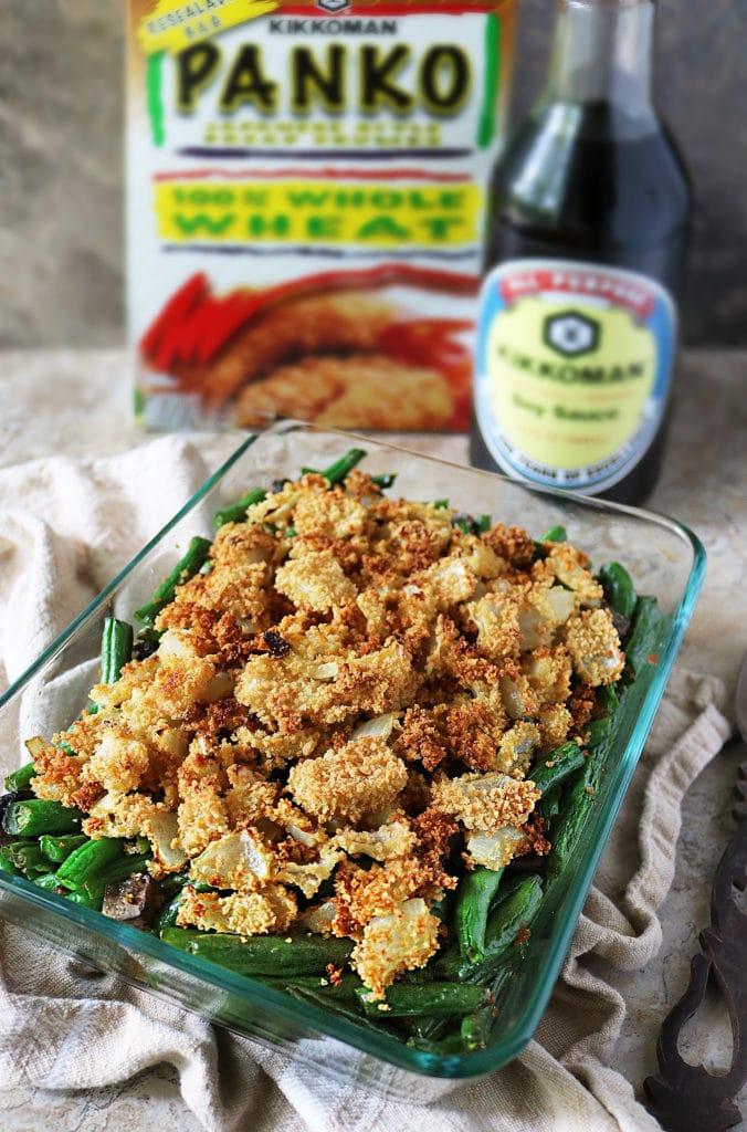 Kikkoman® Green Bean Casserole With A Twist
