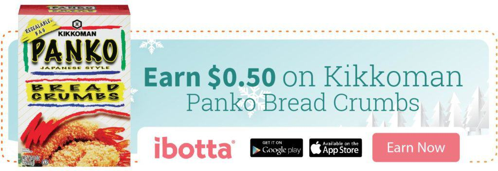 Ibotta Offer on Kikkoman Breadcrumbs