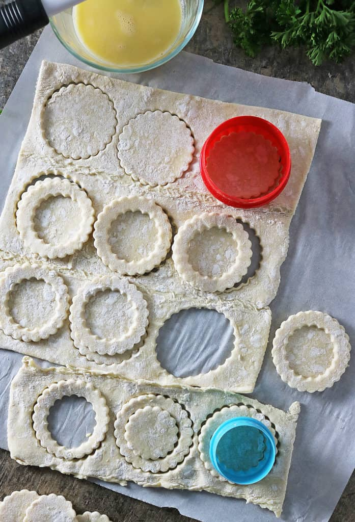 Puff Pastry Stacks Prep