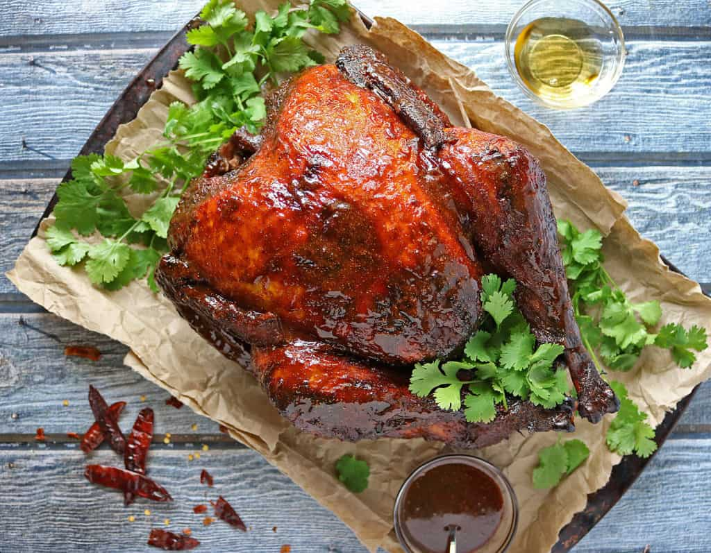 Spicy Honey Glazed Turkey