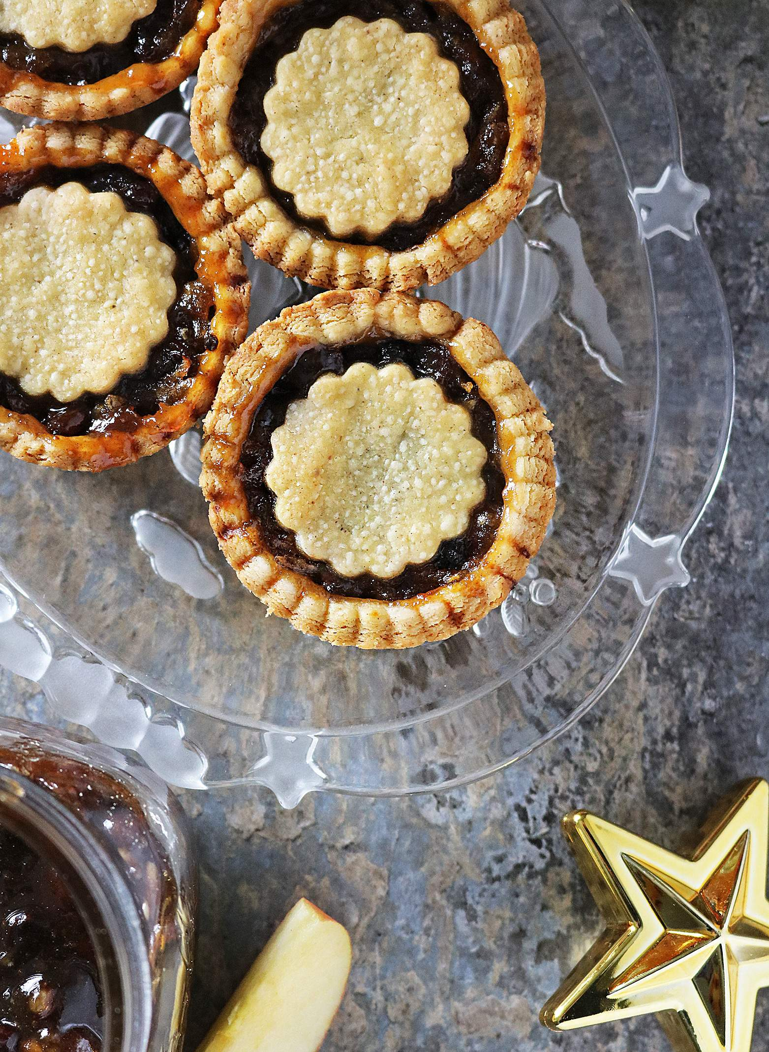 Mincemeat Apple Pies