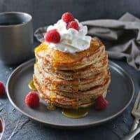 Easy Gluten Free Oatmeal Pancakes