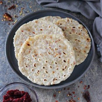 Easy Sri Lankan Coconut Roti