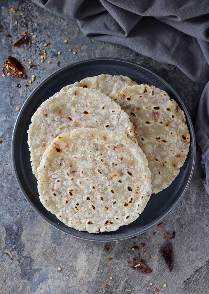 Sri Lankan Coconut Roti