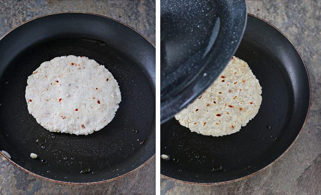Sri Lankan Coconut Roti Prep