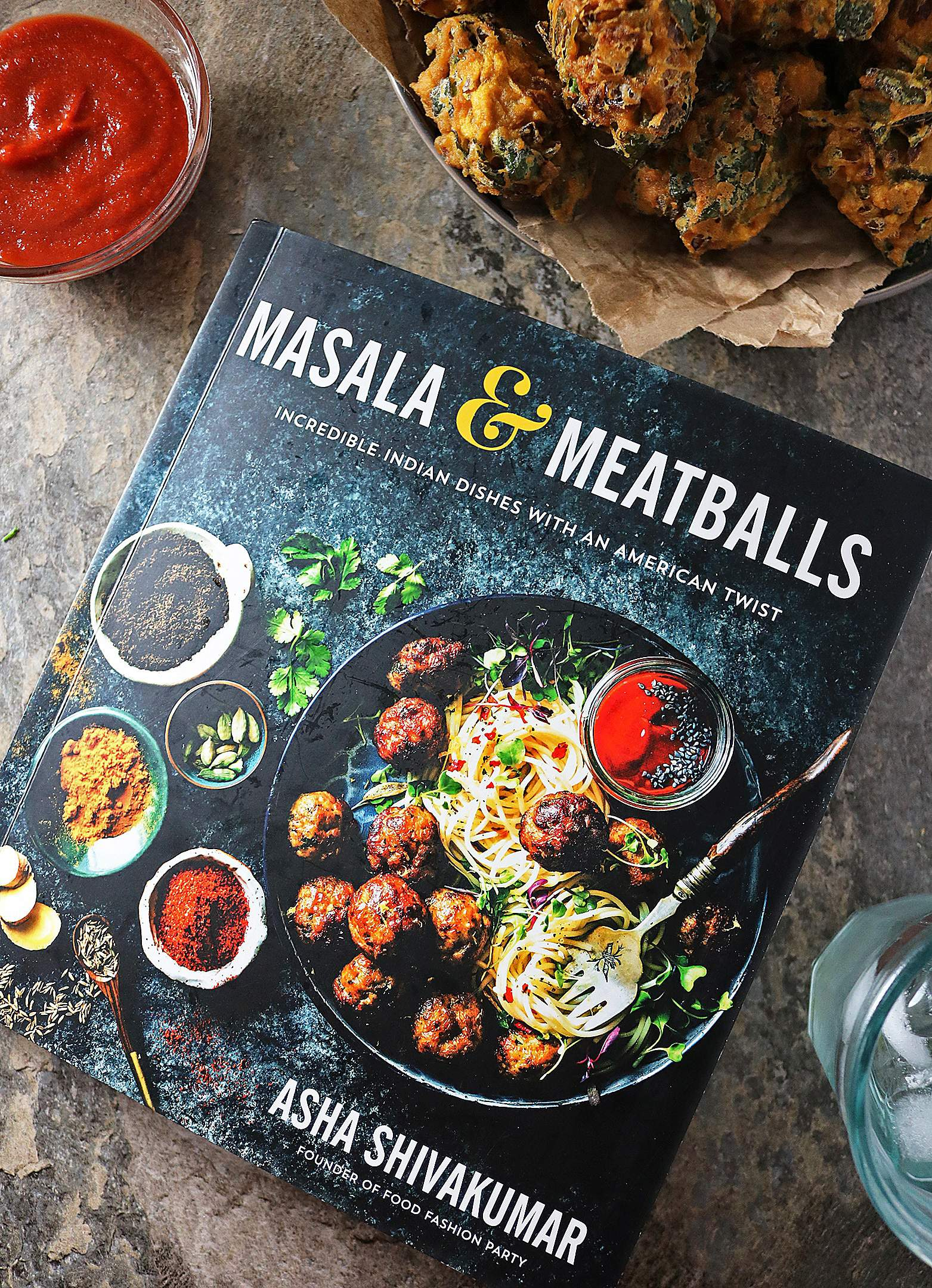 Masala and Meatballs by Asha from FoodFashionParty.com