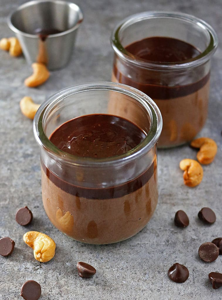 Easy Cashew Pudding