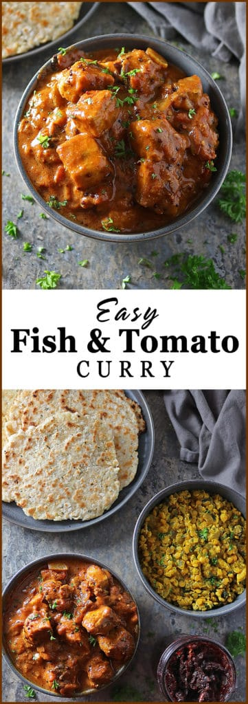 Easy Hearty Fish Tomato Curry