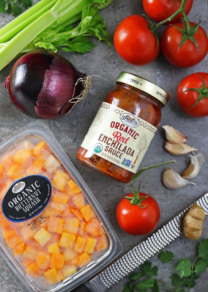 Ingredients To Make Enchilada Shakshuka