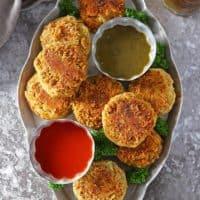 Curry Spiced Lentil Burgers