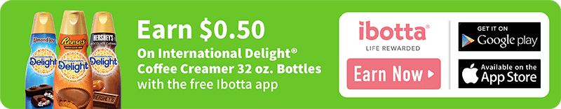 Ibotta Walmart International Delight