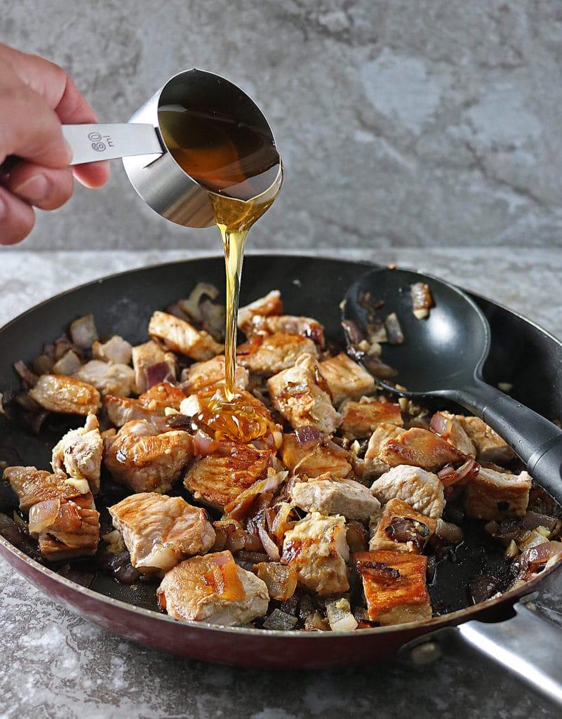 Smithfield Pork Dinner Prep