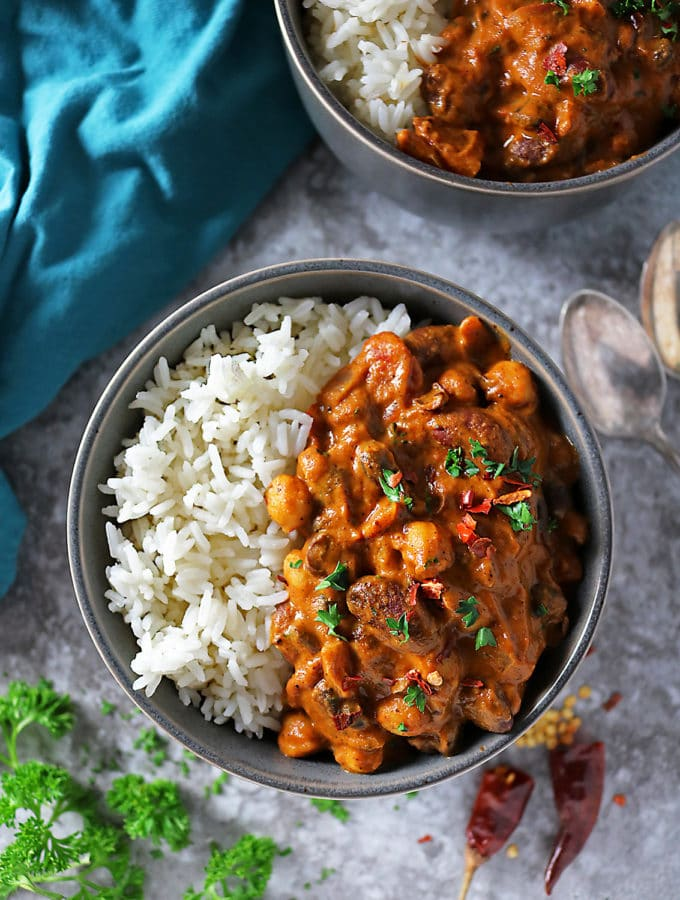 Easy Three Bean Curry