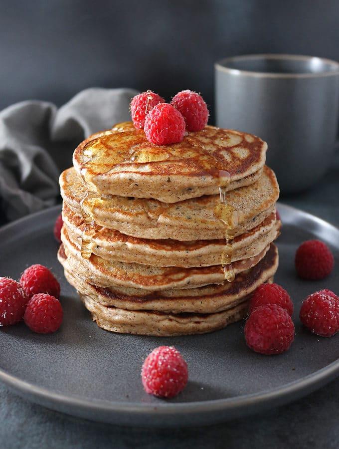 Hemp Almond Pancakes {Recipe}