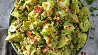 Potato Bacon Avocado Salad