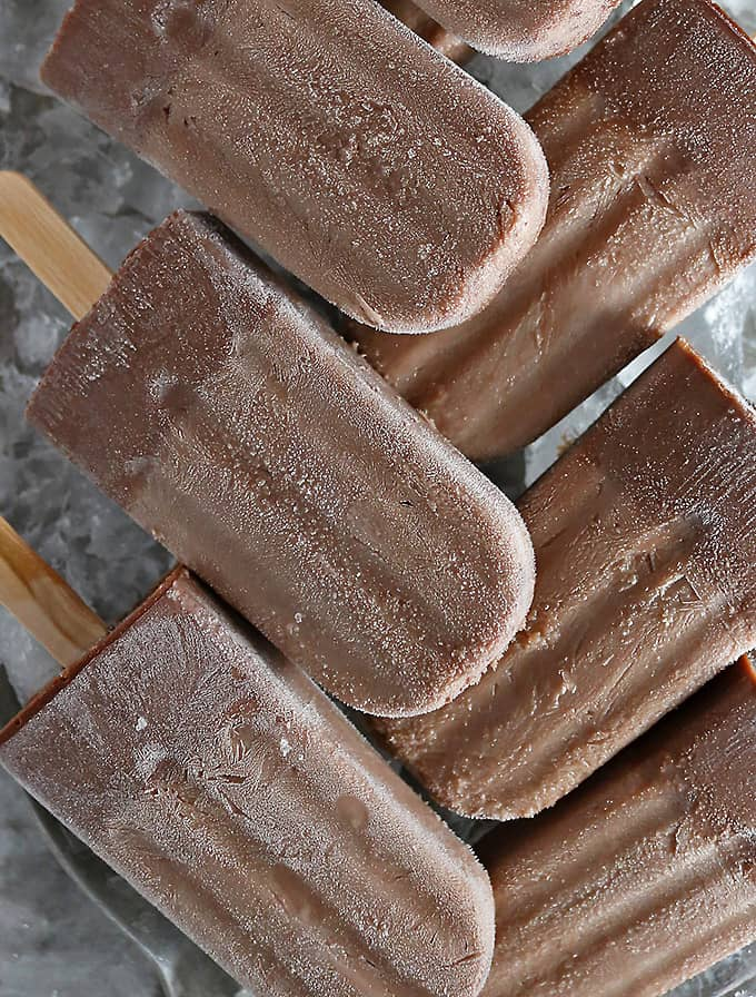Boozy Nutella Popsicles just combined cocktail hour and dessert into one.