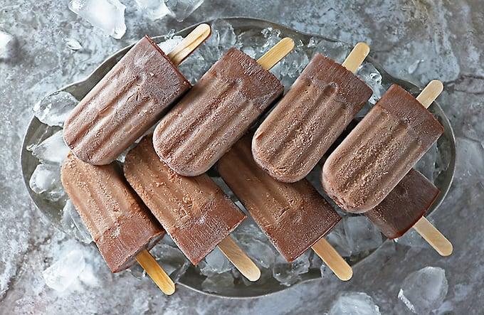 Nutella Bourbon Popsicles make sharing hard!