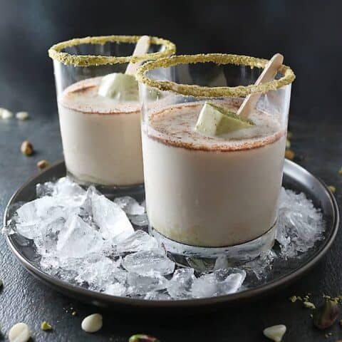 Photo of Pistachio White Chocolate Rum Popsicles In Rum Whisky Tigers Milk