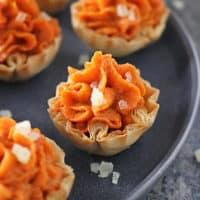 Ginger Carrot Tartlets