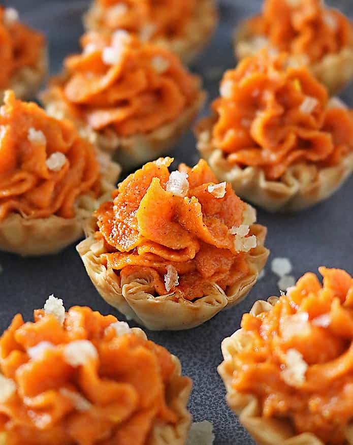 Photo of Easy Ginger Carrot Tartlets