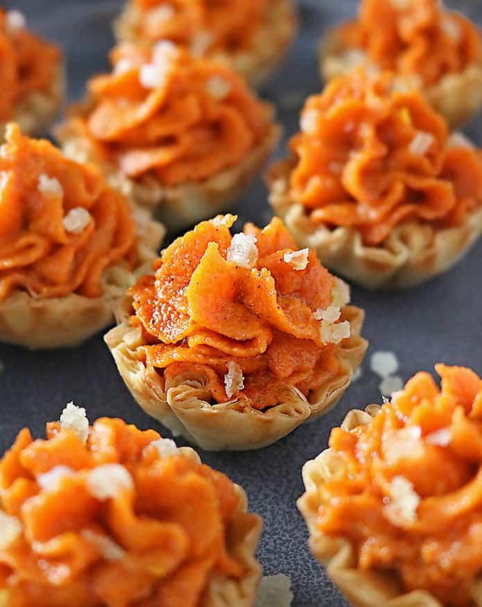 Photo of Easy Ginger Carrot Tartlets