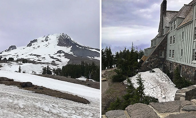 Mt Hood and Timberline Lodge Photo