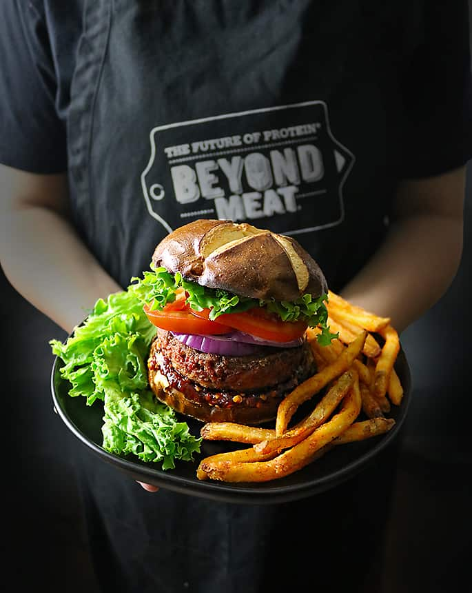 Presenting The Beyond Meat Beyond Burgers - so meat like!