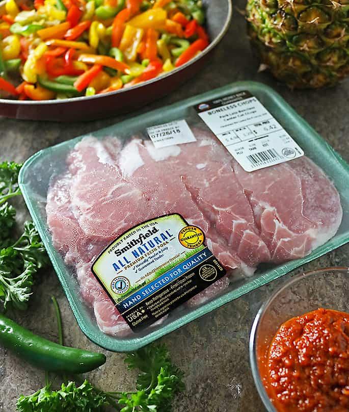 Smithfield All Natural Boneless Pork Guaranteed Tender
