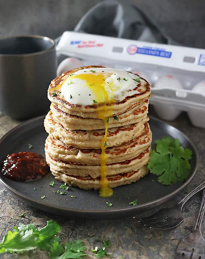 Photo of Delicious Oat Potato Pancakes Stack