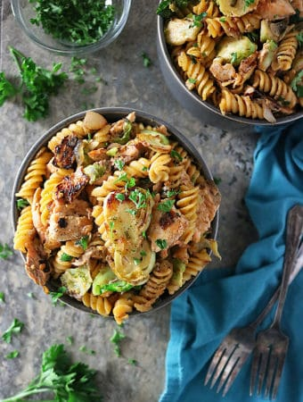 Delicious Salmon Tarragon Pasta Photo