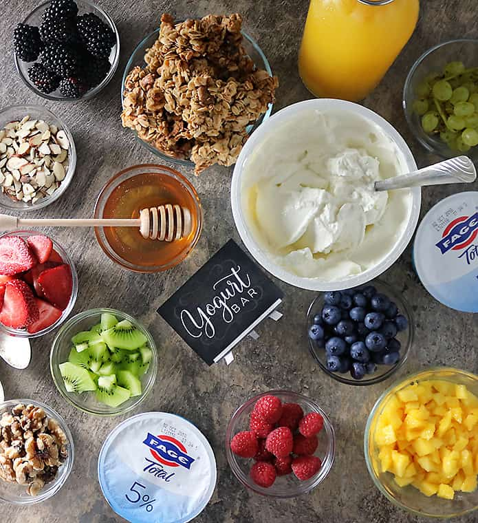 Fage Yogurt Granola Fruit Bar Photo